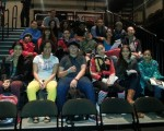 Middle School Rowers Tackle Middle School Issues on Theater Field Trip