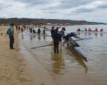 Row for Autism Draws Varsity and Novices to Close Finishes