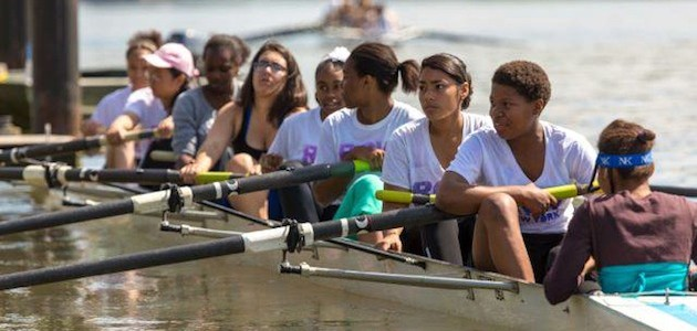 Sun Shines for Inaugural Sharp Regatta, Corporate Chase