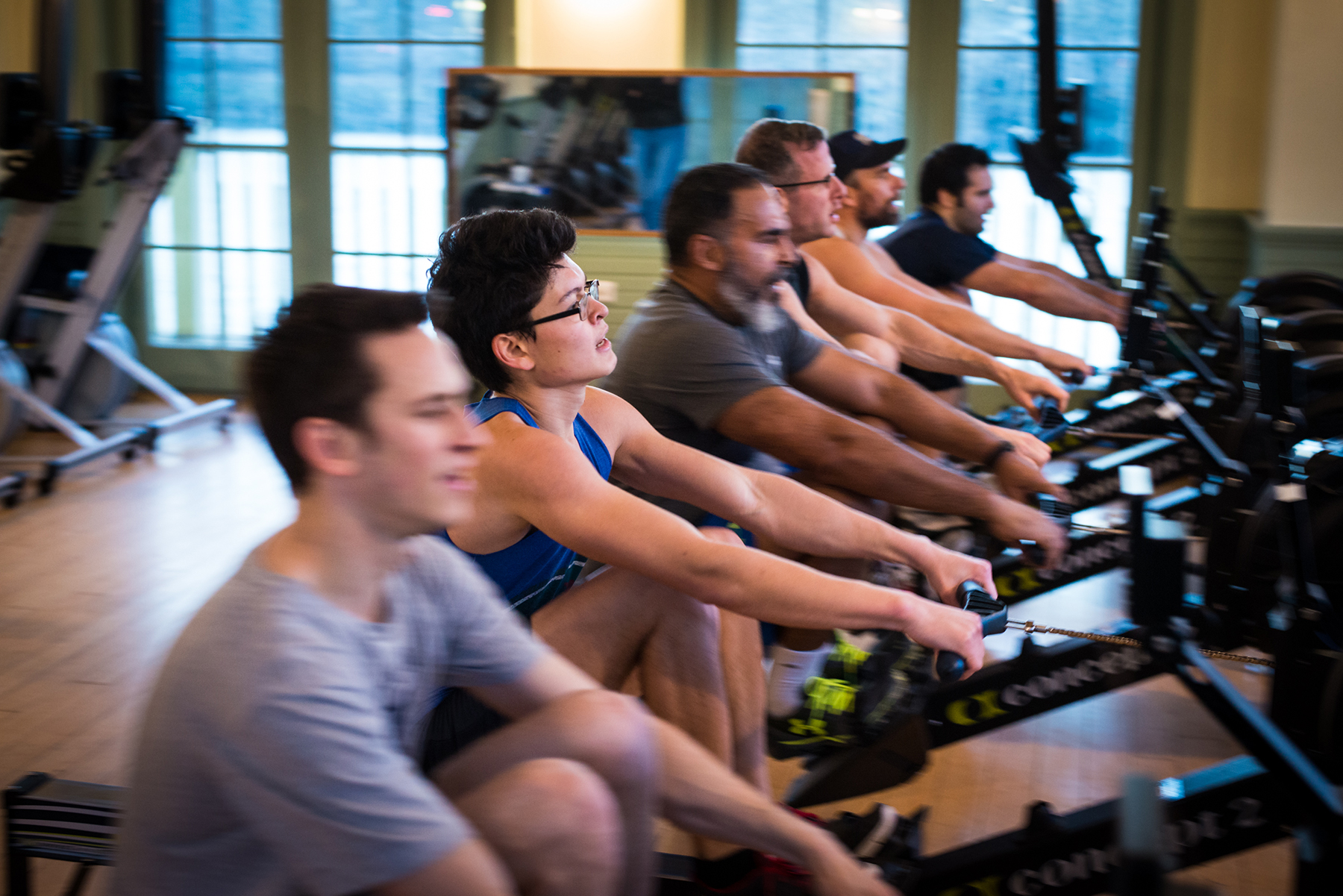 Adult Indoor Rowing Classes