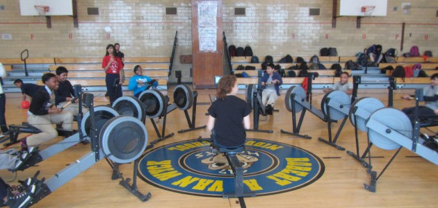 Rowing During Gym Class- No You're Not Dreaming!