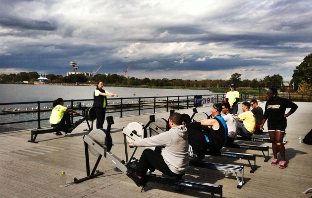 Learn to Row with the Wounded Warrior Project