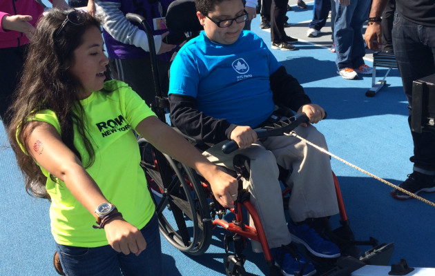 My First NYC Parks Adaptive Sports Event