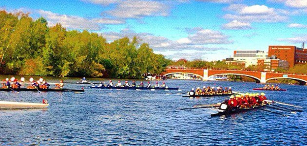 Row New York at the Head of the Charles