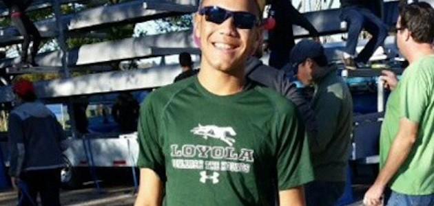 """Like I was at home"": Varsity Rower Juan Visits Loyola University!"