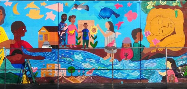 Groundswell Community Mural Project and Catskill Watershed Corporation Partner with Row New York
