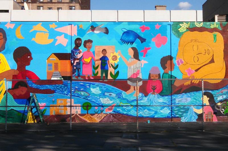 Groundswell community mural project and catskill watershed for Community mural project
