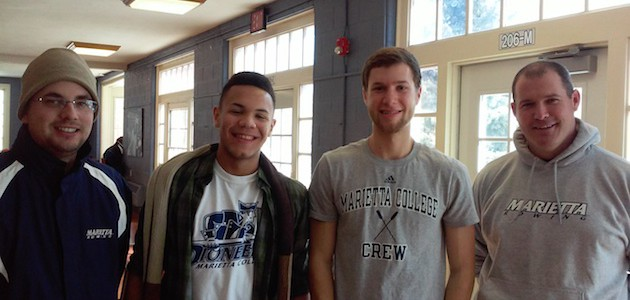 Finding the Right Fit: Varsity Rower Juan Graciano Visits Marietta College!