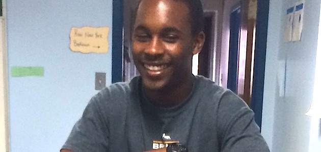 Volunteer Spotlight: Abdul Diallo!