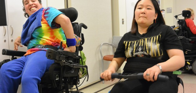 A Tradition of Strong Women: Winter Para-rowing Program