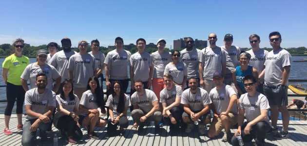 Deloitte Makes an IMPACT at Row New York!