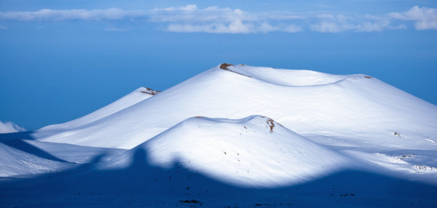 Ray vs the Volcano: Hawaii's Snow Report