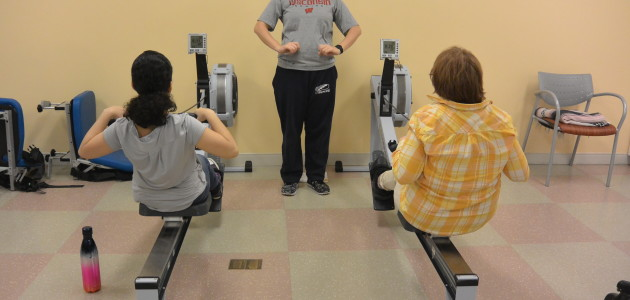 Indoor Adaptive Rowing At NYU Langone