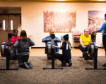 Indoor Rowing At The VA Hospital
